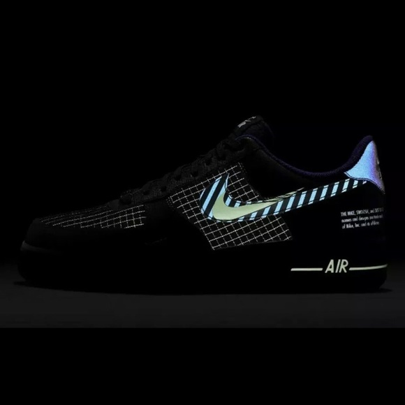 NIKE AIR FORCE1 07 One Low Future Swoosh Pack Sz 9